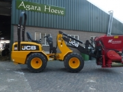 JCB 403 Mini shovel en ME Multistrooier