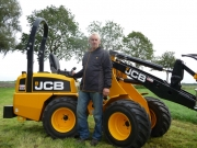 JCB 403 mini shovel